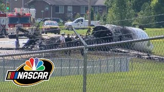 Dale Earnhardt Jr., family survive plane crash | Motorsports on NBC