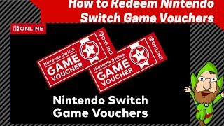 How To Redeem Nintendo Switch Game Vouchers