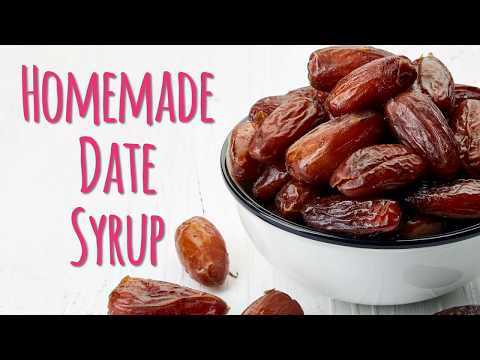 Quick & Easy Date Syrup