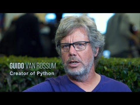 Guido van Rossum   Creator of Python