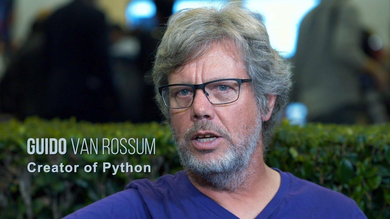 Гвидо Ван Россум - основатель языка программирования Python