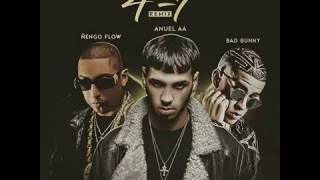 engo flow anuel aa ft bad bunny 47 remix