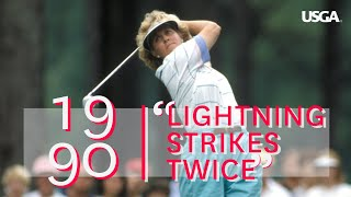 "1990 U.S. Women's Open Film: ""Lightning Strikes Twice"""