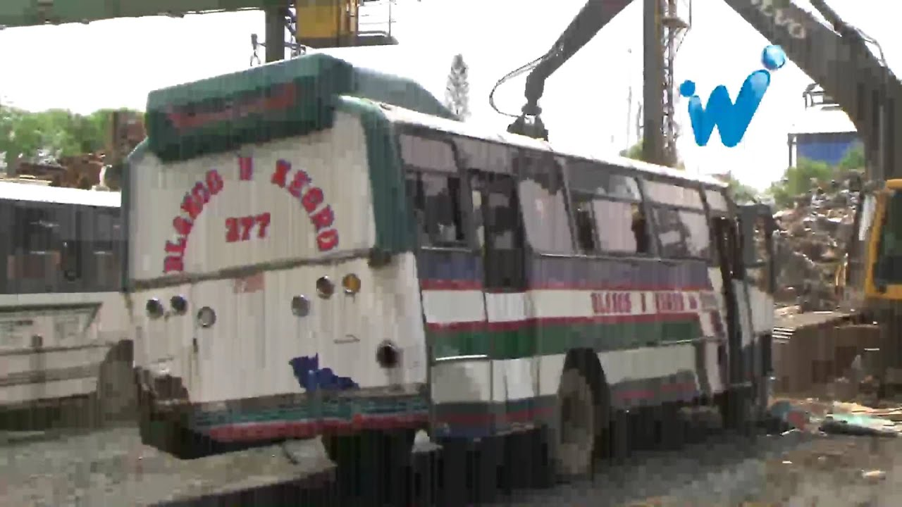 Chatarrizan m s buses en cali video completo youtube for Empresas de jardineria bogota