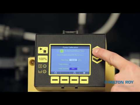 Milton Roy Proteus Metering Pump Process Calibration- Italia