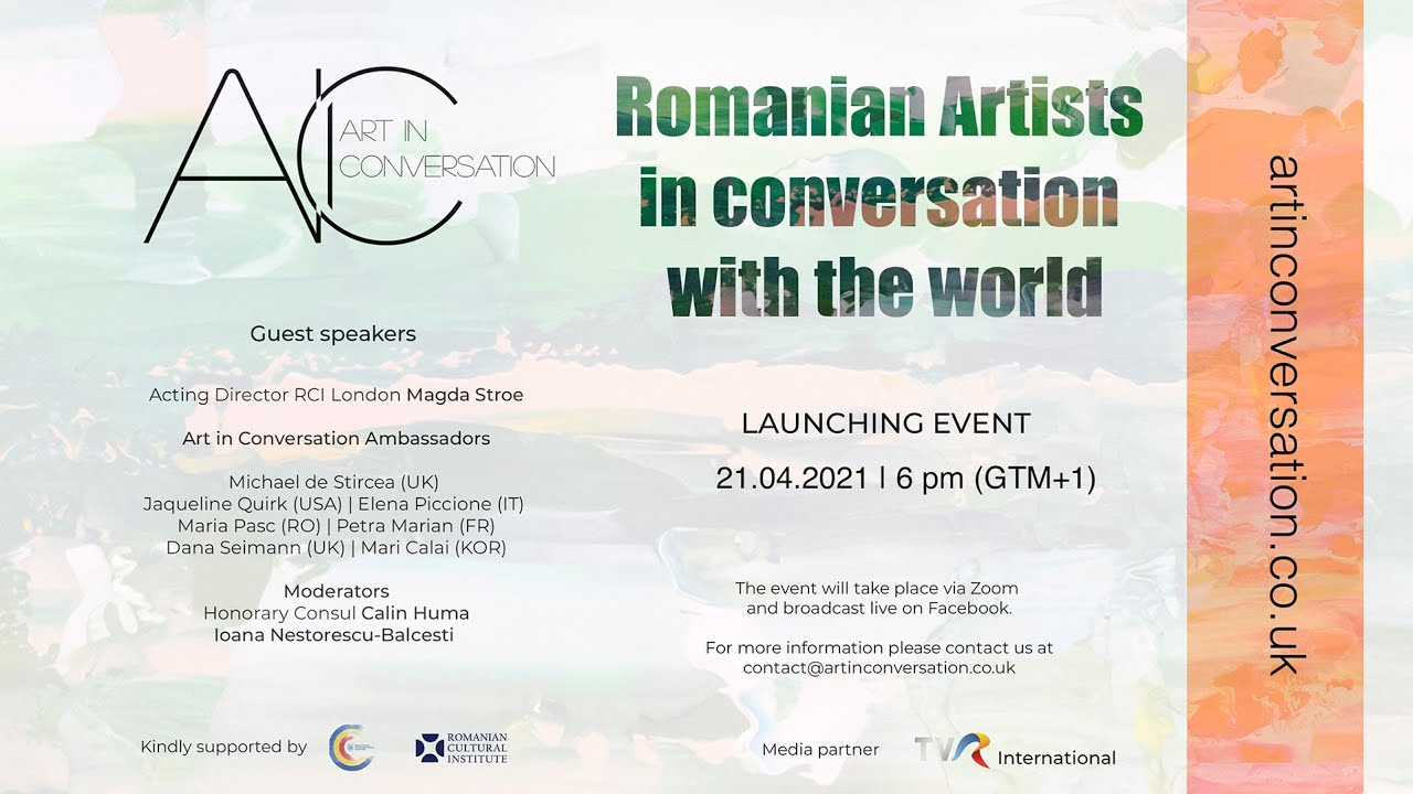 ART IN CONVERSATION Launching Event 2021