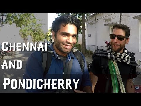 PONDICHERRY and CHENNAI | TRAVEL VLOG | COUCHSURFING