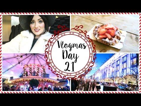 Oxford Street Shopping & Winter Wonderland!   VLOGMAS