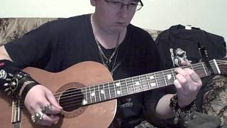me playing mama by the spice girls on guitar by request