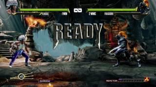 Killer Instinct: Exhibition Matches: Fulgore VS Eagle
