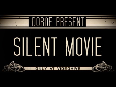 Silent Movie After Effects Template Project Royalty