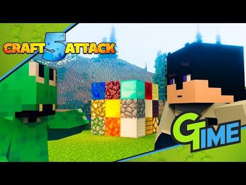 FLUCH und SEGEN! Der Zauberwürfel TROLL an EARLIBOY! - Minecraft Craft Attack 5 #13   Gamerstime