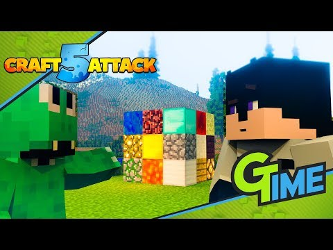 FLUCH und SEGEN! Der Zauberwürfel TROLL an EARLIBOY! - Minecraft Craft Attack 5 #13 | Gamerstime
