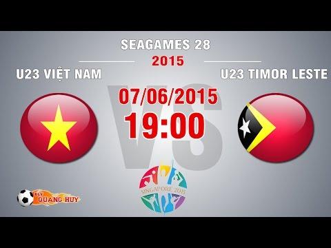 U23 Việt Nam vs U23 Timor Leste - SEA Games 28 | FULL