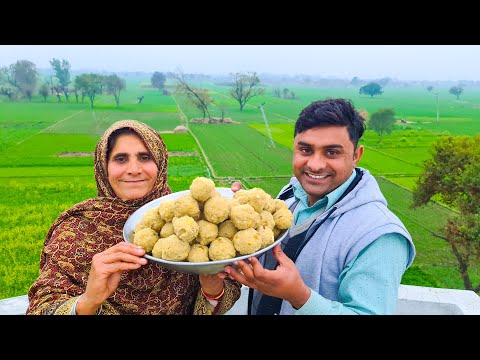 How To Make Chawal Ki Pinni With Ammi Jaan  Rice Flour Laddu Recipe by Mukkram Saleem