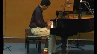 Ho Chuan Wei, 15 year old, plays Trinity grade 8 exam piece Take the A Train.