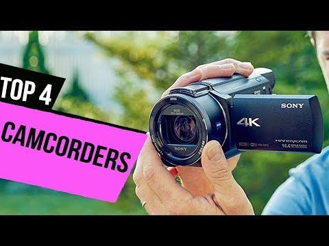 TOP 4: Best Camcorders 2017-2018