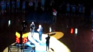 Dean Smith Halftime Recognition and Video @ Carolina's Celebration of a Century