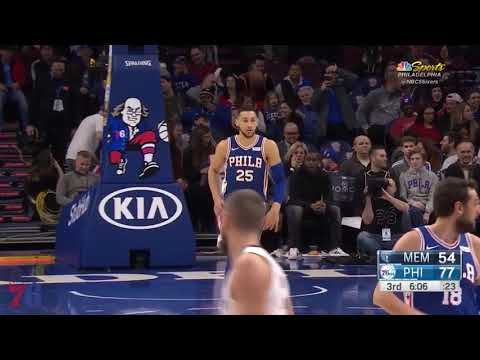 Ben Simmons | Highlights vs Grizzlies (3.21.18)