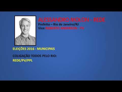 Eleições 2016 | Jingle Alessandro Molon (REDE) - Prefeito Rio de Janeiro