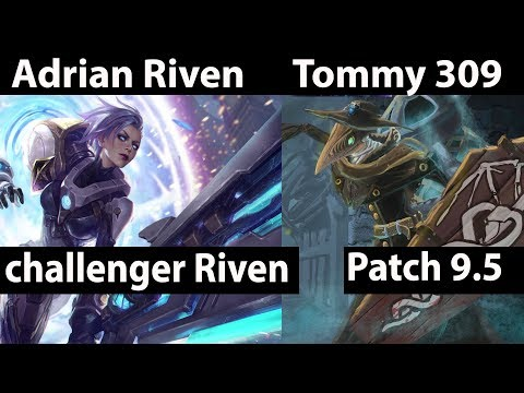 [ Adrian Riven ] Riven vs Singed Top - Adrian Riven Stream Patch 9.5