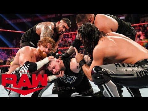Le Sermon De Seth Rollins! Résultats WWE RAW 17 Février 2020