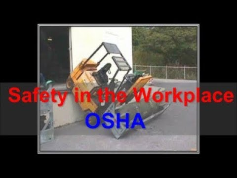 workplace-safety---osha---safety-at-work