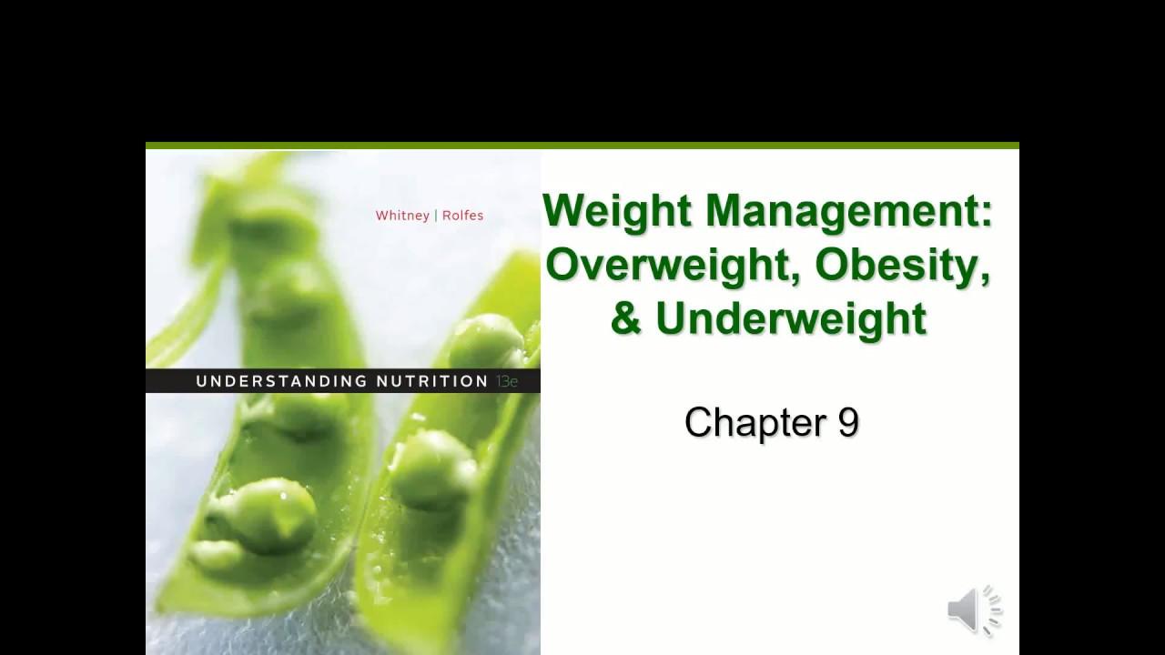 Weight Management (Chapter 9)
