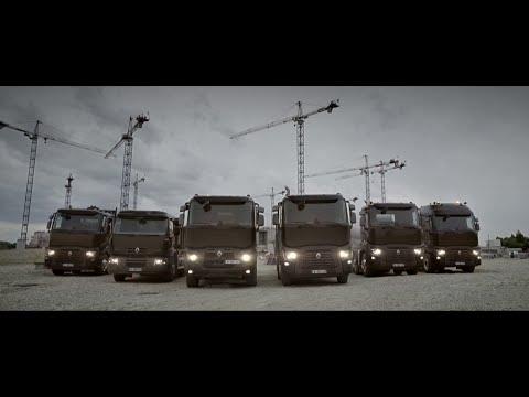 Renault Trucks C : Construction range