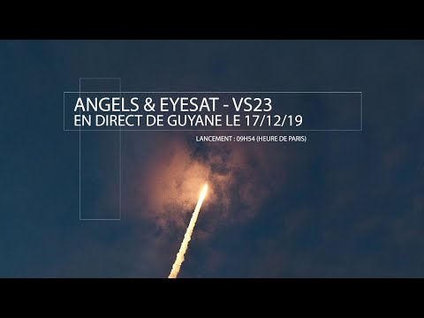 [DIRECT] Lancement d'ANGELS et EyeSat (VS23)
