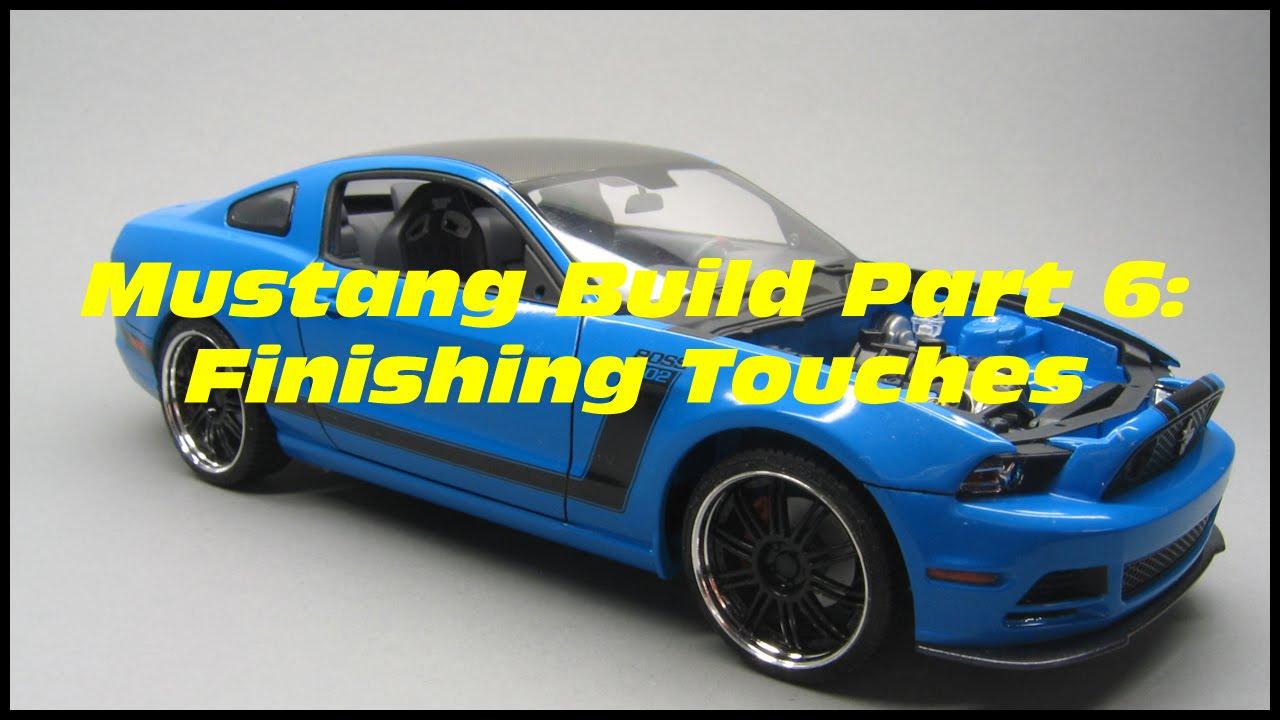 Revell2013 Ford Mustang Boss 302 Part 6 7 Youtube 2014 302s