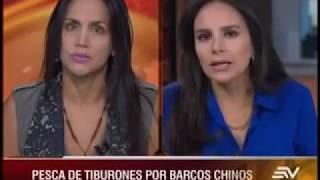 Inés Manzano - Flota Pesquera China En Galápagos