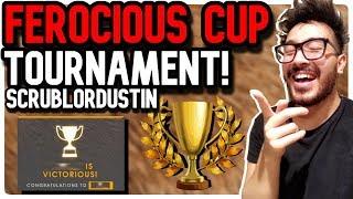 FEROCIOUS CUP TOURNAMENT: ScrubLordDustin! | Pokemon GO PVP