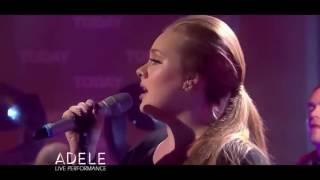Adele - Rolling In The Deep (Live on The TODAY Show)