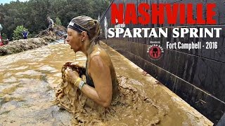NASHVILLE Spartan Race Sprint | Fort Campbell 2016