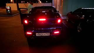 Lancer Ralliart X rear lights