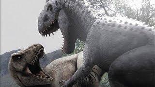 indominus rex vs t rex jurassic park operation genesis dino duels
