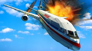 Plane Crash Survival with Spreadable Fire! - Stormworks Multiplayer Gameplay 1.0 Update