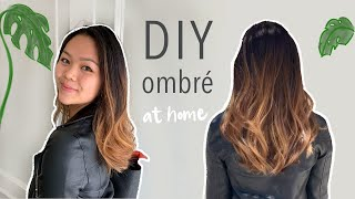 How to Ombre/Balayage at Home (Under $20)