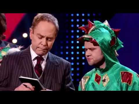 MAGIC - FUNNIEST ACT EVER - Piff the Magic Dragon - Penn and Teller Fool Us