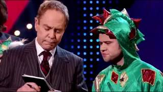 MAGIC - FUNNIEST ACT EVER - Piff the Magic Dragon - Penn and Teller Fool Us