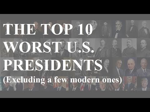 The Top 10 Worst US Presidents