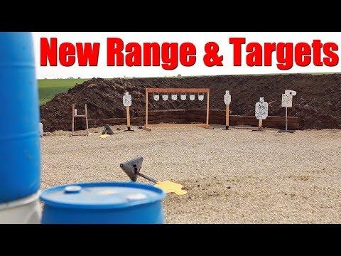 New Shooting Range & Targets + DIY $100 Plate Rack