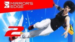 Mirrors Edge прохождение с Карном. Часть 2