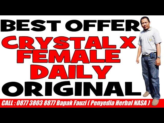 Crystal X Female Daily | +62877 3803 8877
