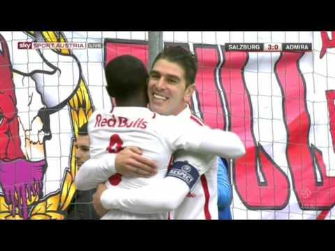 FC Red Bull Salzburg : FC Admira Wacker Modling 8:0 Deutsch
