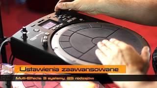 Roland HandSonic HPD-20 demonstruje Mariusz Mocarski