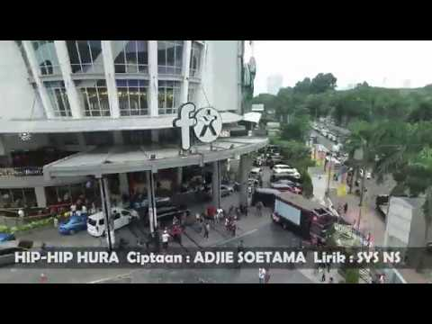 HIP-HIP HURA, COBLOS NO. 2! Flashmob at FX Sudirman (2)