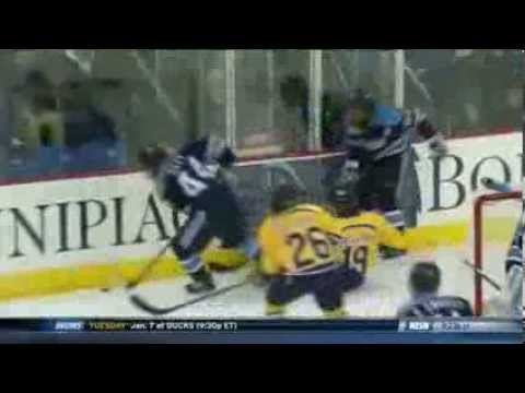 Jordan Samuels-Thomas goal vs. Maine [Jan 3, 2014]