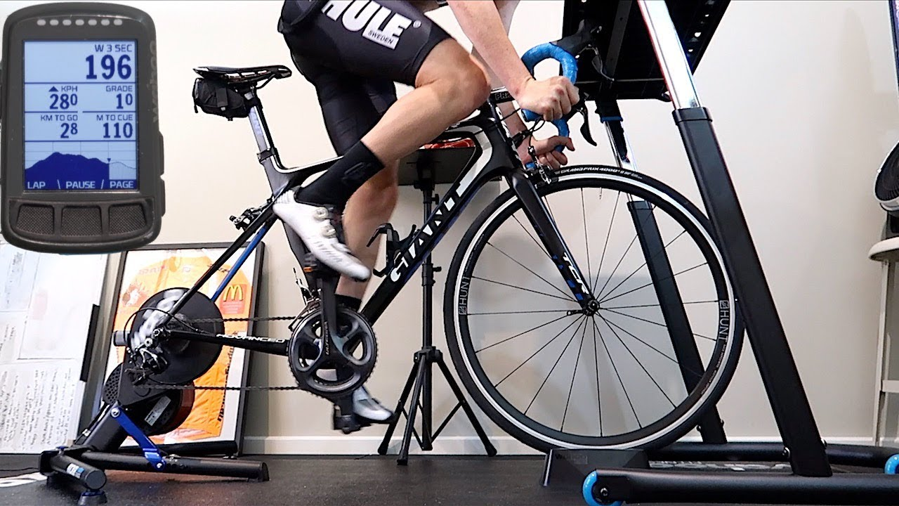 Re-Riding a Route Indoors on a Smart Trainer - Wahoo ELEMNT Bolt